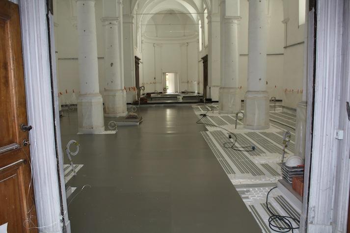 Briotherm vloerverwarming - projecten - Kerken - 1