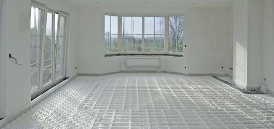 Briotherm Vloerverwarming - Systemen - Nova Systeem