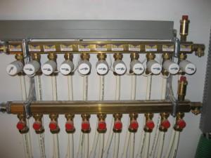 Collector voor vloerverwarming - Briotherm
