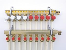 Collectors voor vloerverwarming - Briotherm