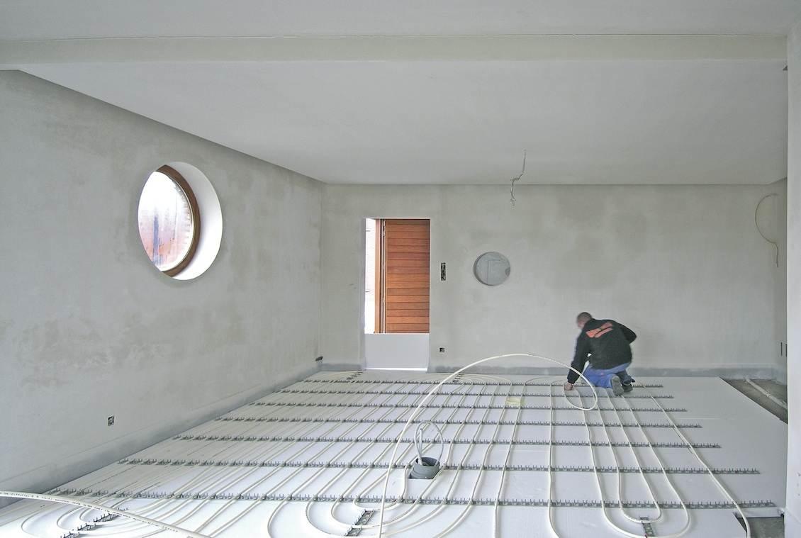 ECO-systeem vloerverwarming - Briotherm - Vloeropbouw stap 2