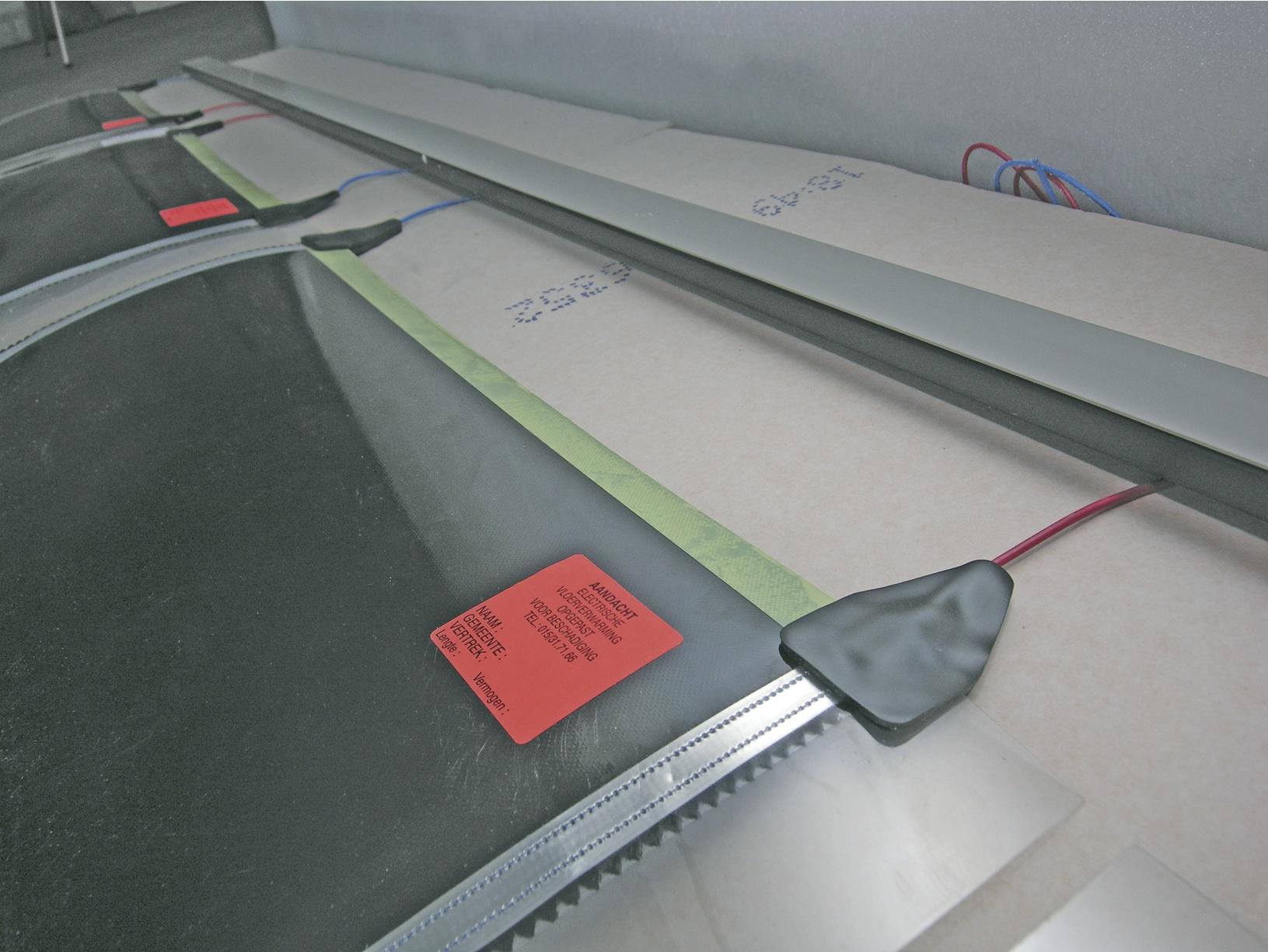 Briotherm vloerverwarming - ELEKTRO systeem