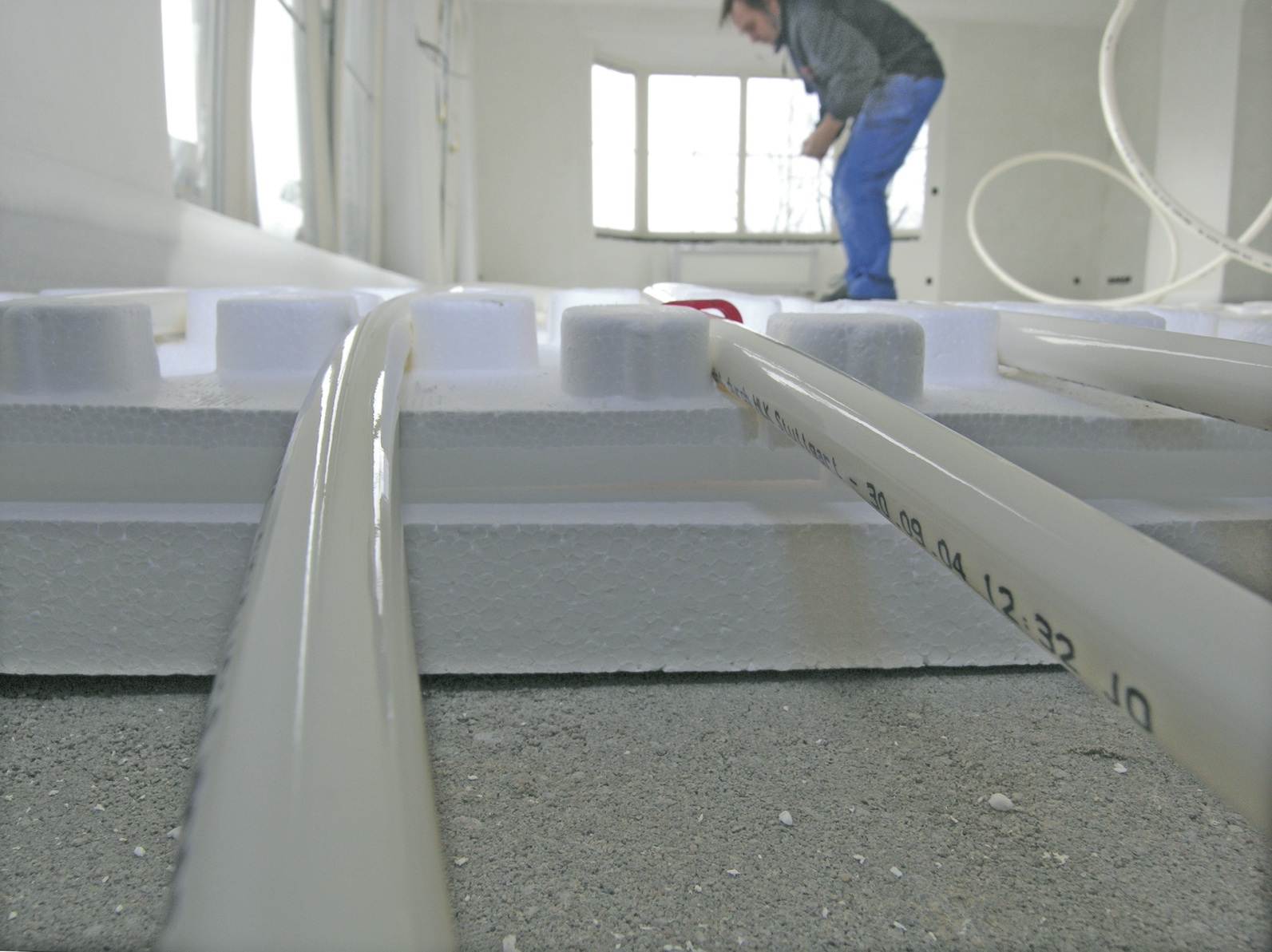 Briotherm vloerverwarming - NOVA-systeem